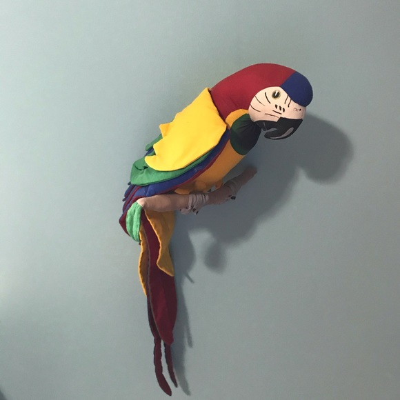 None Other - Colorful Stuffed Parrot